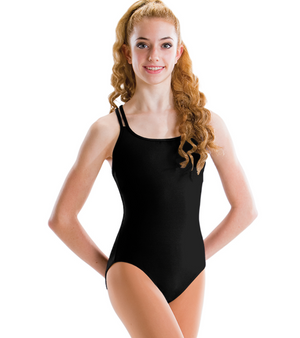 Motionwear Girls Cross Back Camisole Leotard - 2496