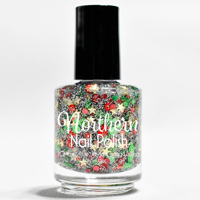 Holiday Glitter Nail Polish - Toxin Free