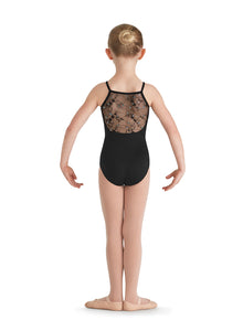 Bloch Camisole Leotard  with Embroidered Mesh Detail - CL7660