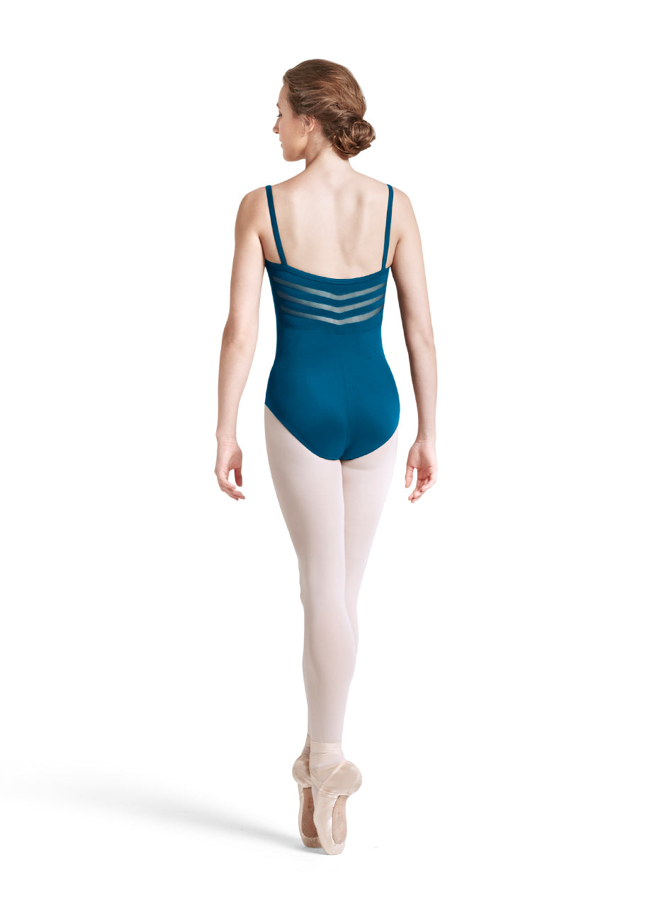 Bloch Chevron Back Camisole Leotard - L8727