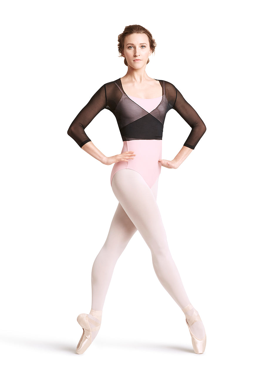 Bloch Mesh Wrap Top - Z1926