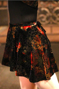 Audition Dancewear Etoile Velvet Wrap Skirt