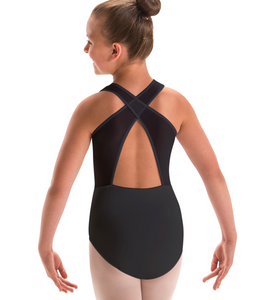 Motionwear Girls Cross Back Tank Leotard - 2209