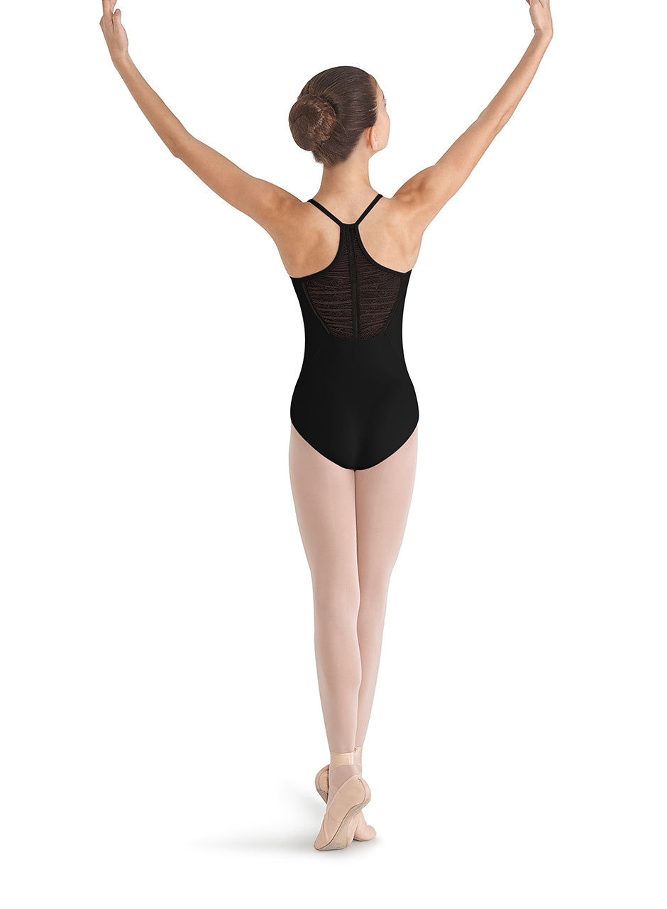Bloch Mesh Racer Back Camisole Leotard - CL8680