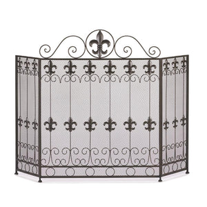 French-Revival-Fire-Place-Screen