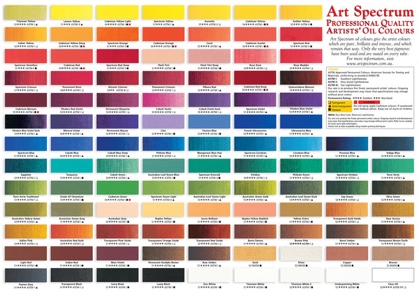 Art Spectrum Oil 150mL - Series 3, 4 & 5