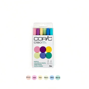 Copic Ciao Pastels Set of 6