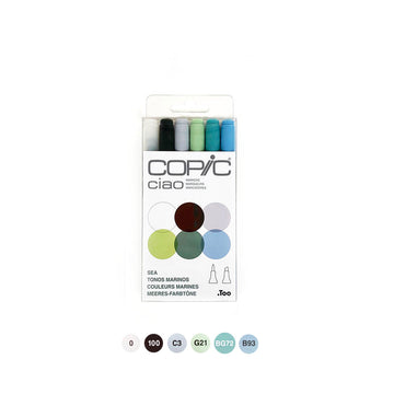 Copic Ciao Sea  Set of 6