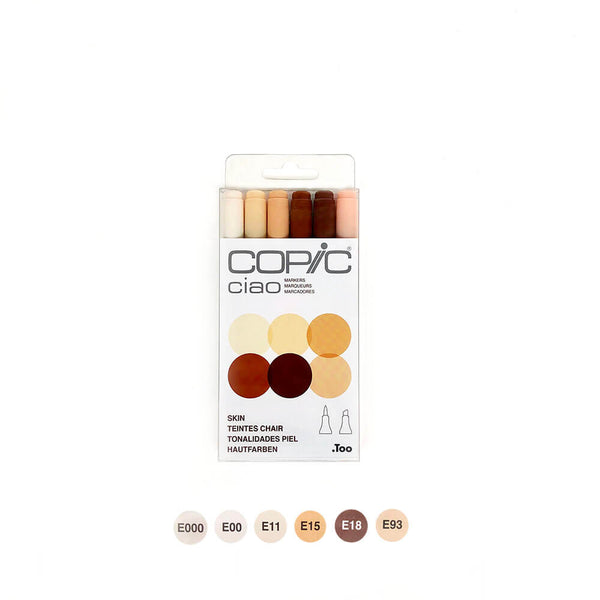 Copic Ciao Skin Set of 6
