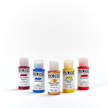Golden Fluid Acrylic 30mL Series 7, Series 8 and Series 9