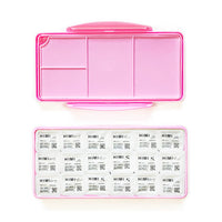 Himi Jelly Cup Gouache Set 18 x 30mL - Pink Case