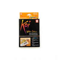 Koi Watercolour Field Sketch Box of 18 Pans