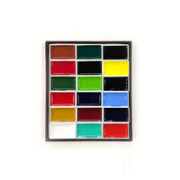 Kissho Gansai Watercolour Standard Colours Set of 18