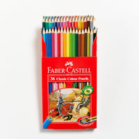 Faber-Castell Red Range Classic Pencils Set 36