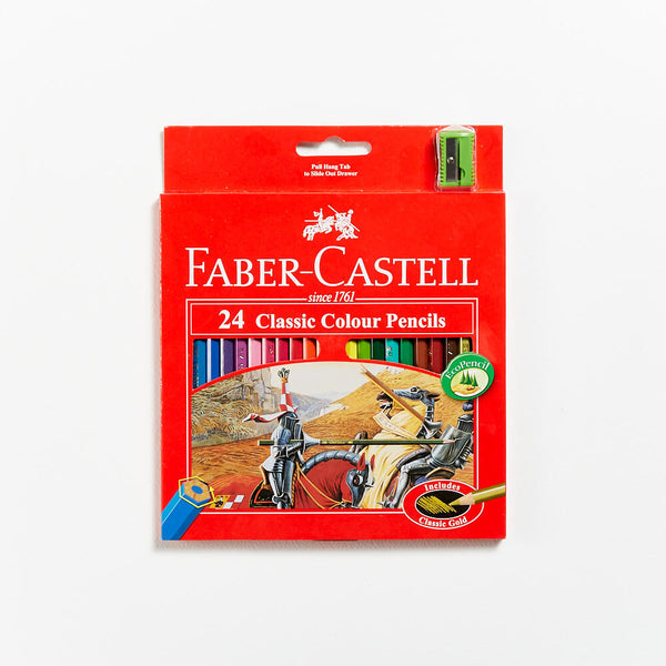 Faber-Castell Red Range Classic Pencils Set 24