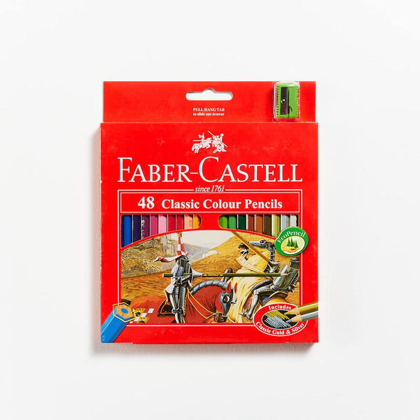 Faber-Castell Red Range Classic Pencils Set 48