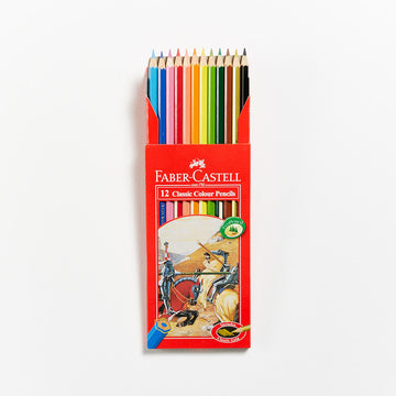 Faber-Castell Red Range Classic Pencils Set 12