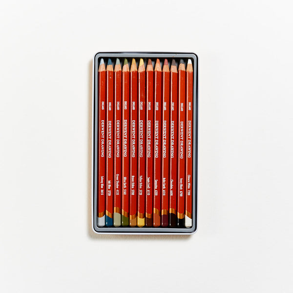 Derwent Drawing Colour Pencils Set of 12