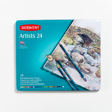 Derwent Artists Pencils Set of 24