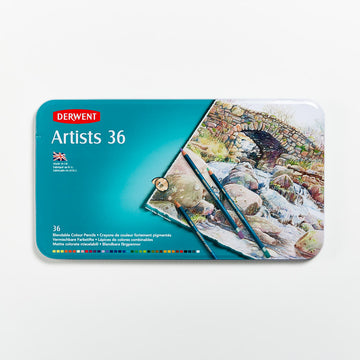 Derwent Artists Pencils Set of 36