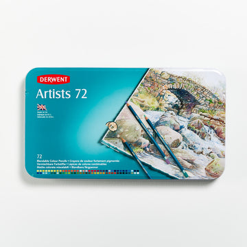 Derwent Artists Pencils Set of 72