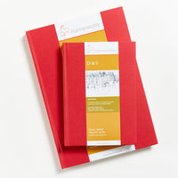 Hahnemuhle D&S Journal Red Cover 140gsm
