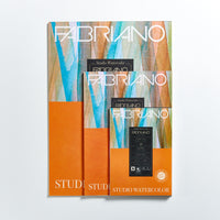 Fabriano Studio Watercolour Pad 200gsm Hot Press