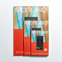 Fabriano Studio Watercolour Pad 300gsm Hot Press