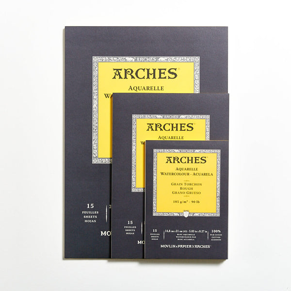 Arches Watercolour Pad 185gsm Rough