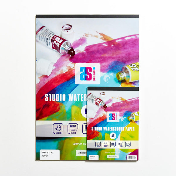 Art Spectrum Studio Watercolour Pad 185gsm Rough
