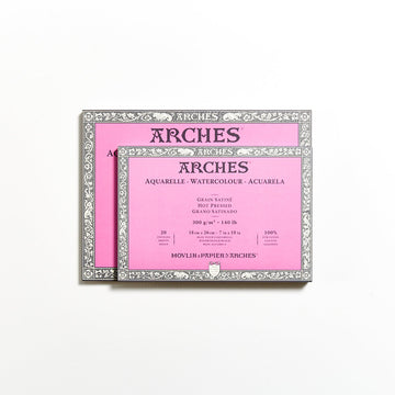 Arches Watercolour Block 300gsm Hot Press