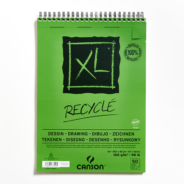 Canson XL RECYCLE Drawing Pad 160gsm