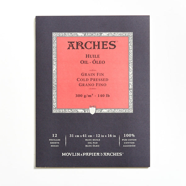 Arches Oil Pad 300gsm