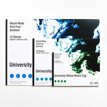University Mixed Media Pad 210gsm