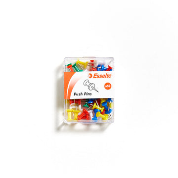 Esselte Push Pins Pack of 50