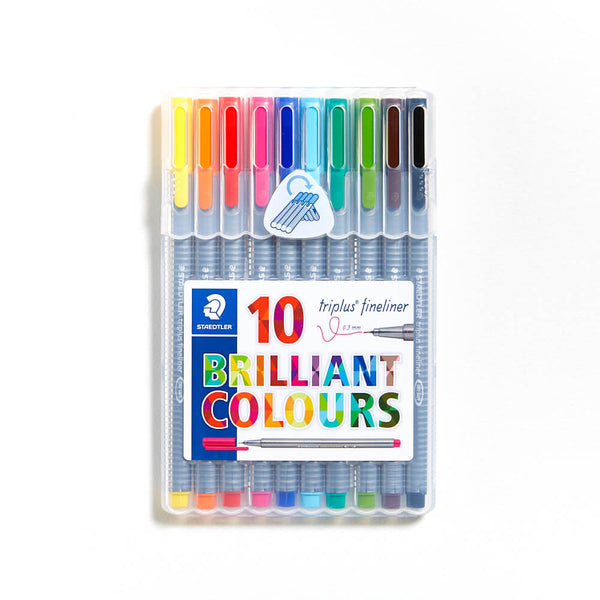 Staedtler Triplus Fineliner Set of 10