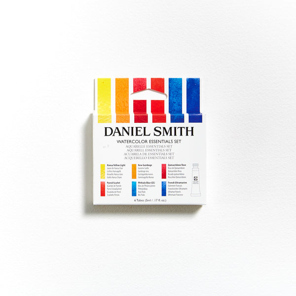 Daniel Smith Watercolour 5mL Essentials Set of 6