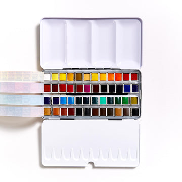 Sennelier Watercolour Half Pan Set of 48