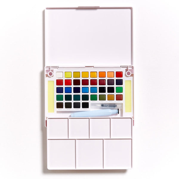 Koi Watercolour Field Sketch Box of 36 Pans