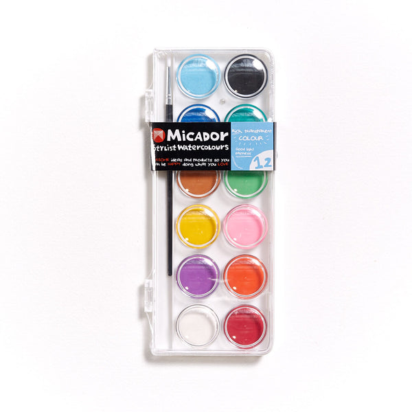 Micador Stylist Watercolour Set of 12