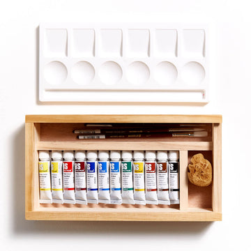 Art Spectrum Watercolour 10mL Wood Box Set of 12