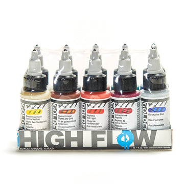 Golden High Flow Acrylic 30mL Set Assorted