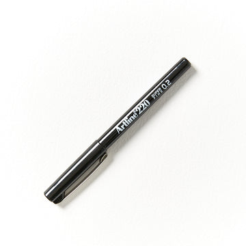 Artline 220 Marker Black 0.2mm