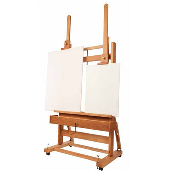 Mabef M02 Studio Easel Double Mast