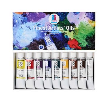 Art Spectrum Artists Oil Colour Set 9 x 40mL