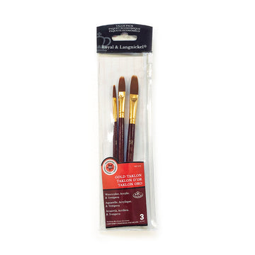 Royal & Langnickel Taklon Comb Brush Set of 3