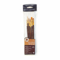 Royal & Langnickel Gold Taklon Brush Set of 6