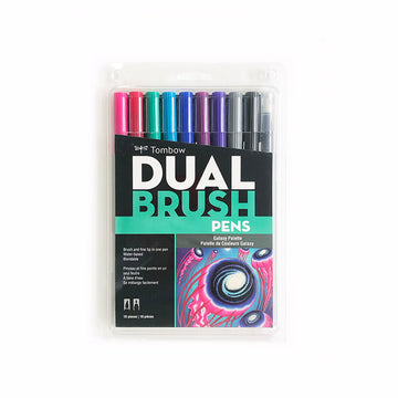 Tombow Dual Brush Pen Galaxy Set of 10