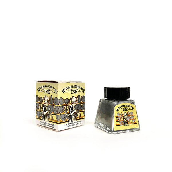 Winsor & Newton Drawing Ink - Metallic Silver