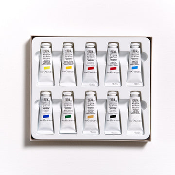 Winsor & Newton Designers Gouache 14mL Intoductory Set 10